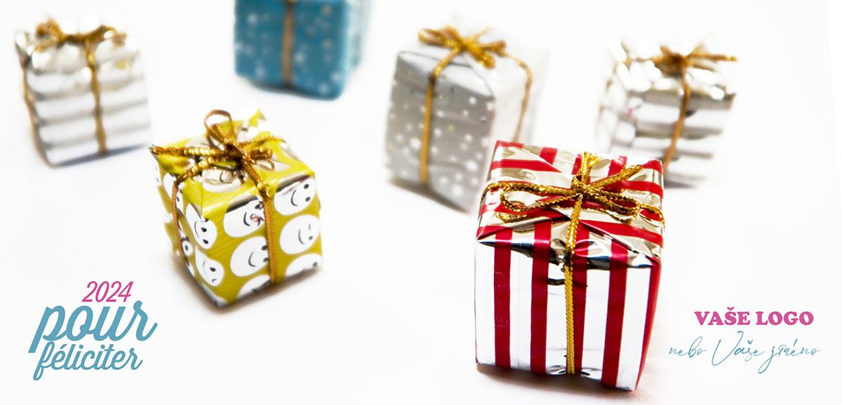 Novoročenkou s dárečky připravíte svým blízkým i obchodním partnerům o překvapení navíc
