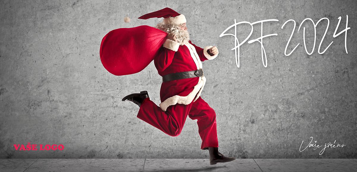 Novoročenka 78 - Prchající Santa