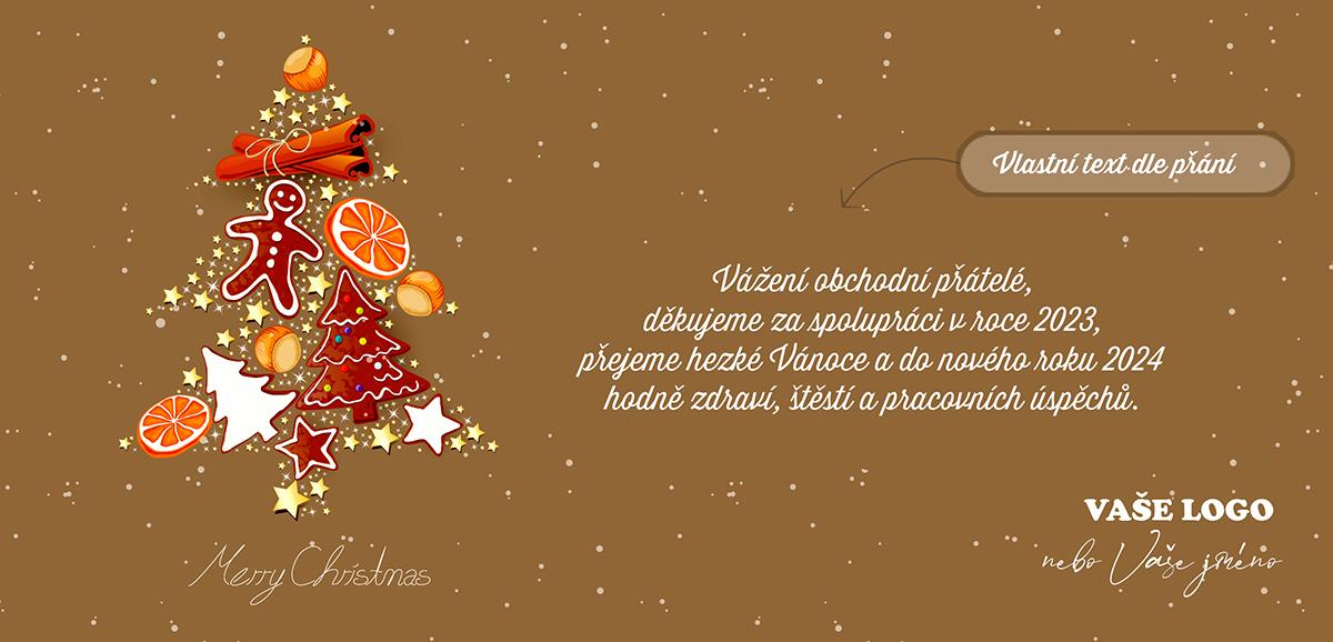Nalaďte chuťové buňky svým blízkým i klientům, stromeček plný vánočních dobrot, na novoročence vypadá vážně dobře.