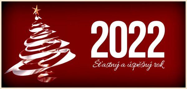 Oblíbenou červenou novoročenku příjemně rozjasní lesklý atypický vánoční strom a vaše přání.