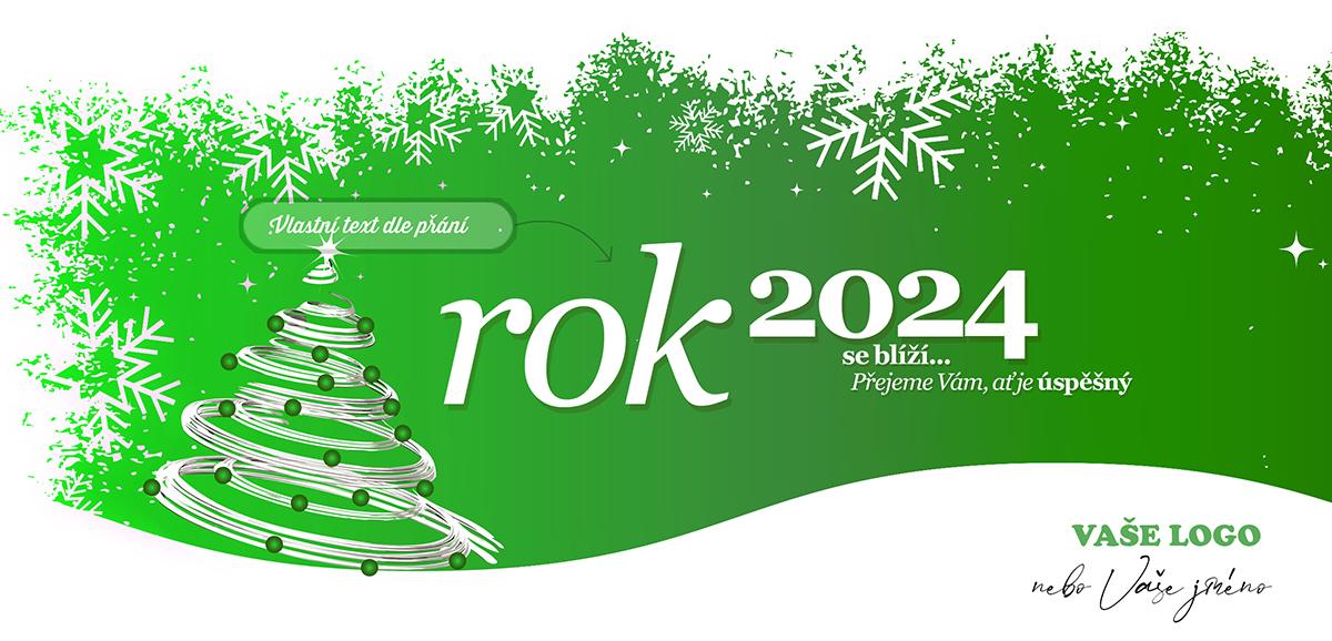 Novoročenka 194 - Zelené zátiší