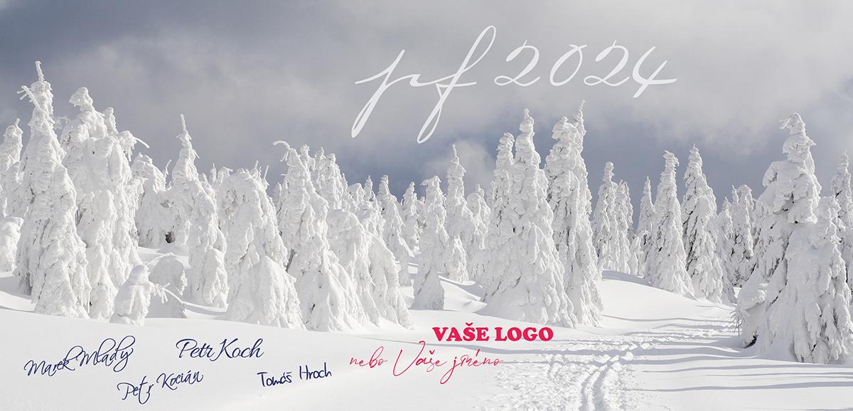Pohádkovou zimou, se stromy prohýbající se pod tíhou sněhu, na novoročence potěšíte nejen sportovce.