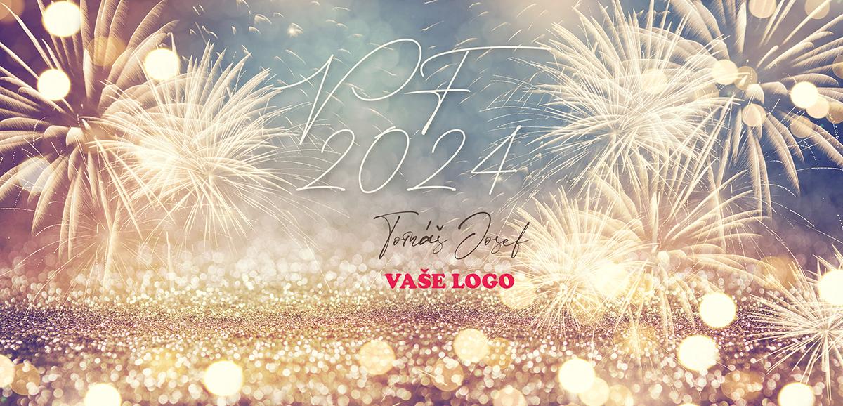 Zlatý ohňostroj na novoročence zvýrazní neopakovatelné okamžiky konce letošního, ale i budoucího roku.